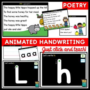 Alphabet PowerPoints Beginning Sounds