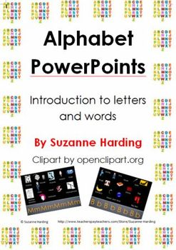 Alphabet PowerPoints by Suzanne Harding