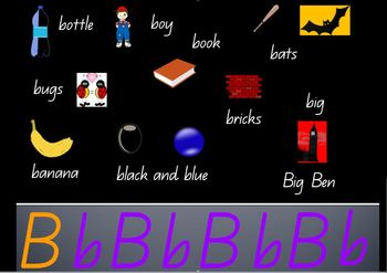 Alphabet PowerPoints in QBeginner font by Suzanne Harding