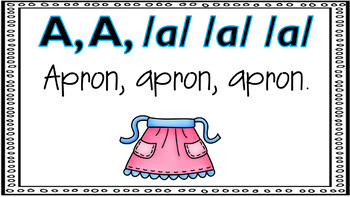 Alphabet Activity - Letter Sounds - Powerpoint: The Letter A