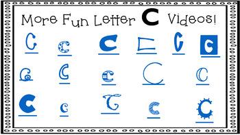 Alphabet Activity - Letter Sounds - Powerpoint: The Letter C