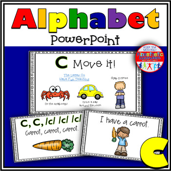 Alphabet Activity - Letter Sounds - Powerpoint: The Letter C