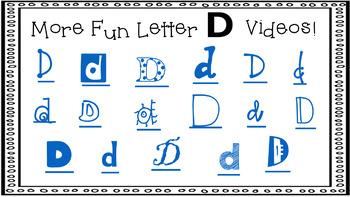 Alphabet Activity - Letter Sounds - Powerpoint: The Letter D