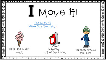 Alphabet Activity - Letter Sounds - Powerpoint: The Letter I