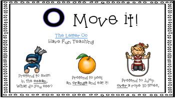 Alphabet Activity - Letter Sounds - Powerpoint: The Letter O