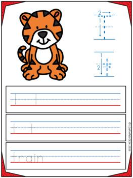Alphabet Practice (Write and Wipe)