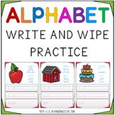 Alphabet Worksheets A-Z Kindergarten Handwriting Practice