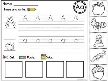 Beginning Sound Worksheets (Alphabet Worksheets)