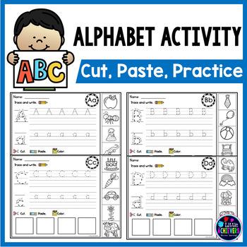 Alphabet Worksheets Beginning Sounds Practice