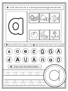 All In One ABC: Alphabet Sound and Letter Recognition Plus Handwriting Practice