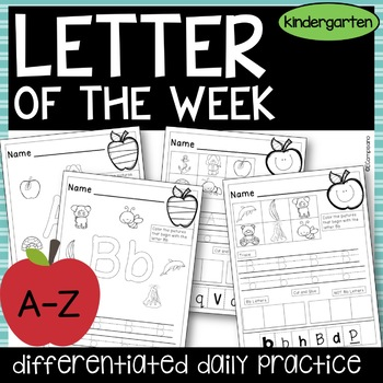 Letter of the Week -- Sounds, Recognition, and Handwriting