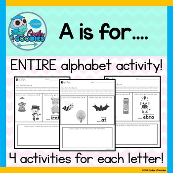 Alphabet Practice - A is for...