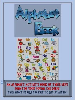 Alphabet Practice Activity Book