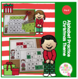 Alphabet Practice Christmas Theme Pajama Kids