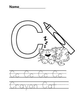 Alphabet Practice Coloring and Writing Worksheets
