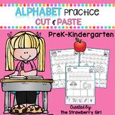 Alphabet Practice Cut and Paste
