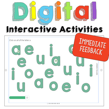 Alphabet Practice Digital Learning Unit