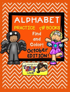 Alphabet Practice - Find and Color the Letters