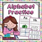 Alphabet Worksheets   Alphabet Tracing and Writing   Alphabet Center Activities