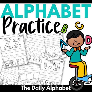 Alphabet Practice ~ Letter Recognition & Initial Sounds