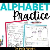 Alphabet Practice Pages