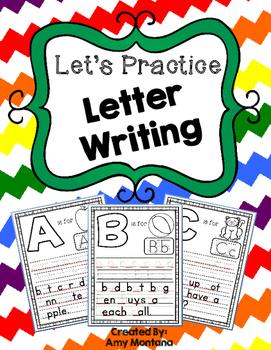 Alphabet Activity {Letter Writing!}