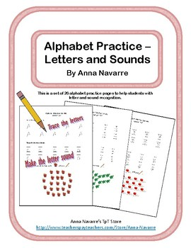 Alphabet Practice - Letters and Sounds