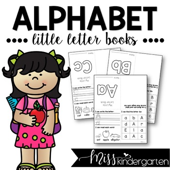 Alphabet Practice Little Letter Books