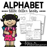 Alphabet Practice Little Letter Books