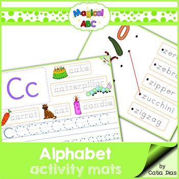 Alphabet Practice Mats
