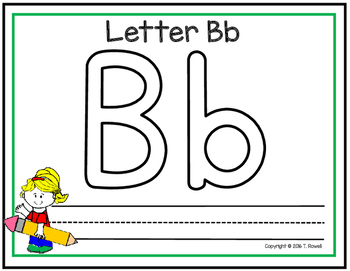 Alphabet Practice Mats (Use With Play-Dough & Dry Erase Markers)