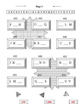 Alphabet Practice Missing Letters