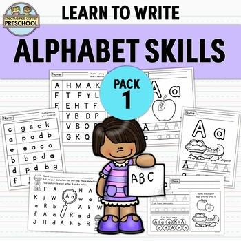 Alphabet Practice Pack