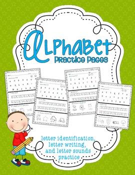 Alphabet Practice Pages