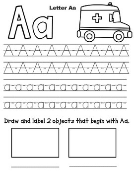 Alphabet Tracing  Pages