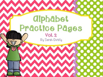 Alphabet Practice Pages A-Z Vol. 2