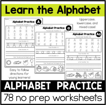 Alphabets Handwriting Practice Sheets Worksheets Teaching Resources Tpt - 27+ Writing Alphabet Printable Writing Alphabet Kindergarten Worksheets PNG