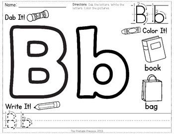 Alphabet Formation Practice Pages {No Prep!}