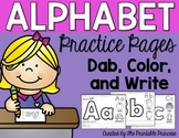 Alphabet Formation Practice Pages {No Prep!}