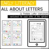 Alphabet Practice Pages | Preschool, PreK, Kindergarten