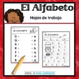 Alphabet Practice Pages- Spanish