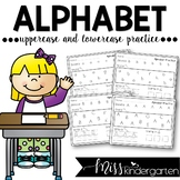 Alphabet Practice Pages {uppercase & lowercase letters}