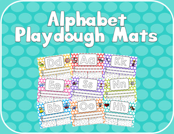 Alphabet Practice/Play-dough Mats
