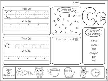 Alphabet Practice Printables