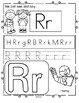 Back to School Alphabet Printables - Recognition, Tracing and Beginning Sounds