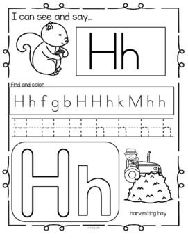 FALL Alphabet Practice Printables - Recognition, Tracing ...