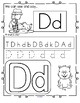 FARM Alphabet Practice Printables - Recognition, Tracing a