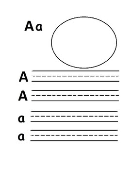 Alphabet Practice Sheets/ Identifying Letters