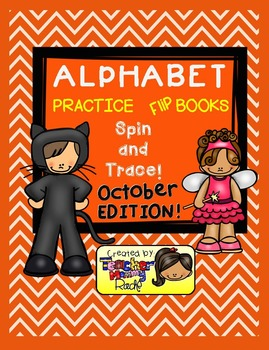Alphabet Practice - Spin and Trace the Letters