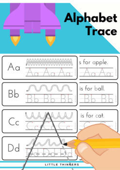 Alphabet Practice Strips